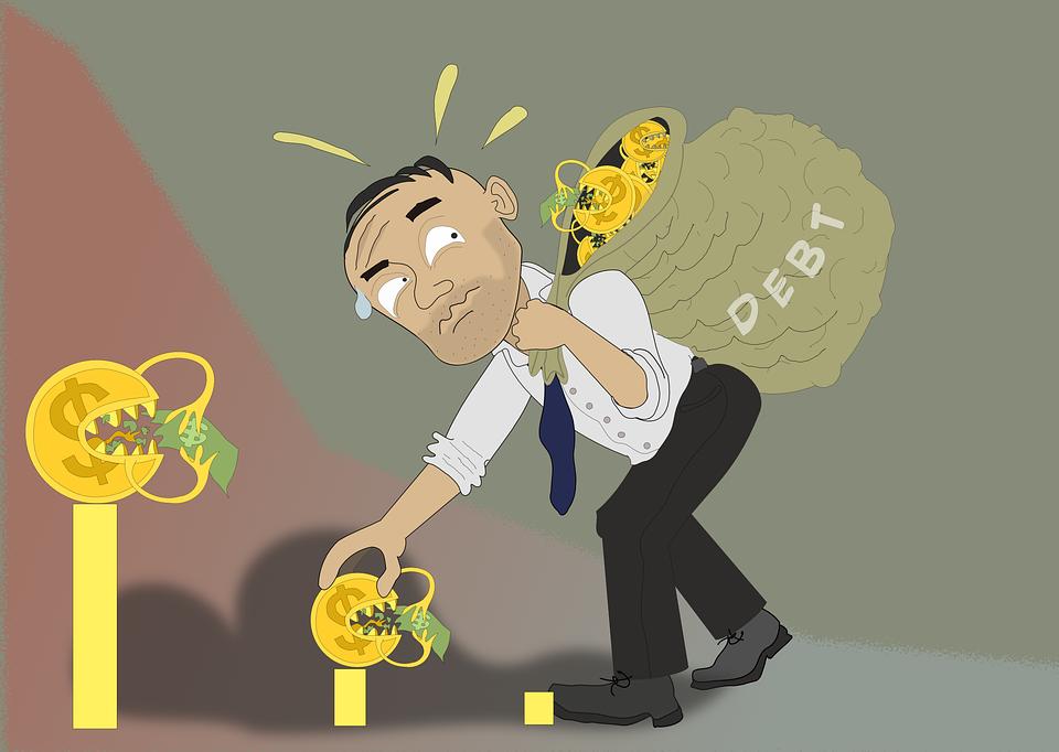 verwerpen erfenis bij schulden